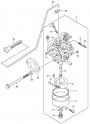 Карбюратор (Carburetor) (для моделей DF4 и DF5 2002-2004 года)