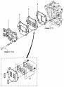 Впускной клапан (Inlet, Reed Valve)
