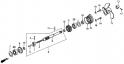 Гребной винт и вал гребного винта (Propeller Shaft + Propeller) F5
