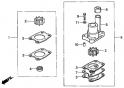 Комплект крыльчатки водяного насоса (Impeller Kit) FOB-2