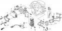 Катушка зажигания, блок контактного зажигания (Ignition Cool + C.D.I. Unit) E20