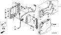 Катушка зажигания, блок контактного зажигания (Ignition Cool + C.D.I. Unit) F7-10