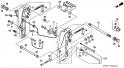 Кронштейн транца (2) (Stern Bracket) F-10-1