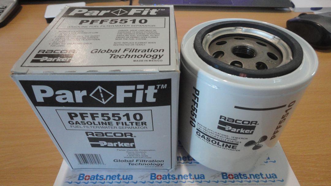 Fuel filter Фильтр топл накручиваем