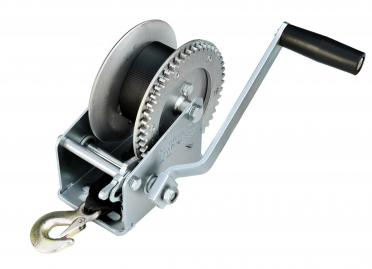 Winch for trailer Лебёдка Лента