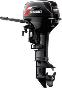 Запчасти к лодочным моторам Suzuki (Двухтактные)