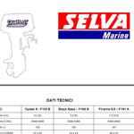 Иллюстрированные каталоги запчастей для моторов Selva Marine