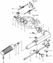 Рукоятка румпеля (Tiller Handle) (MF/EF модели)