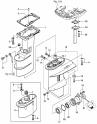 Картер коробки передач / коробка передач (Drive Shaft Housing / Gear Case)