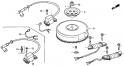 Маховик / Катушка зажигания (Flywheel / Ignition Coil) E19