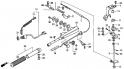Ручка рулевого управления, трос дроссельной заслонки (Handlebar) F1