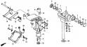 Крепежная рама и корпус шарниров (Swivel Case + Mount Frame) F11