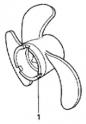 Гребной винт (Propeller) FOB-3