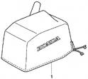Чехол верхней крышки  мотора (Cover Body) FOB-4