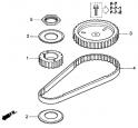 Ремень распредвала (Triming Belt) E13