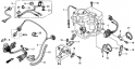 Жгут проводов, зарядная катушка 6A (Wire Harness + Regulator) F-7