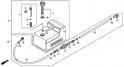 Топливный бак (пластиковый) (Fuel Tank) F-6-1