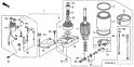 Двигатель электростартера (Starter Motor Assy) E21