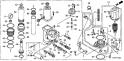 Механизированный дифферент наклона (Trim/Tilt Power Assy) F-11-20